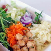 Delicious Salads! Served fresh at our Food Truck.