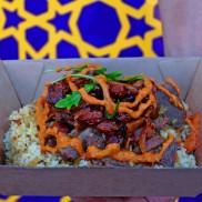 Aromatic Souk Street Food! Served fresh at our Food Truck.