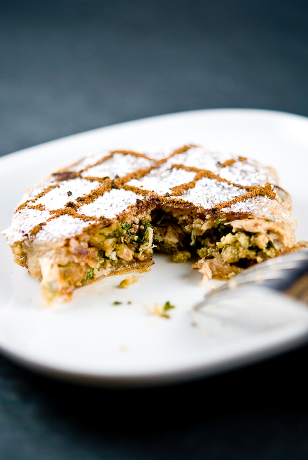 Pastilla - sweet and savoury pie and oh so satisfying!